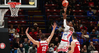Basket: Milano show con Reggio Emilia e primato, Cremona passa a Pistoia ed è terza