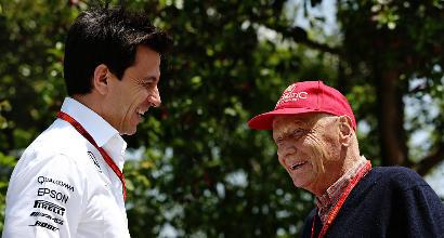 """Mercedes, Wolff: """"Lauda insostituibile, non ci sarà mai nessuno come lui"""""""