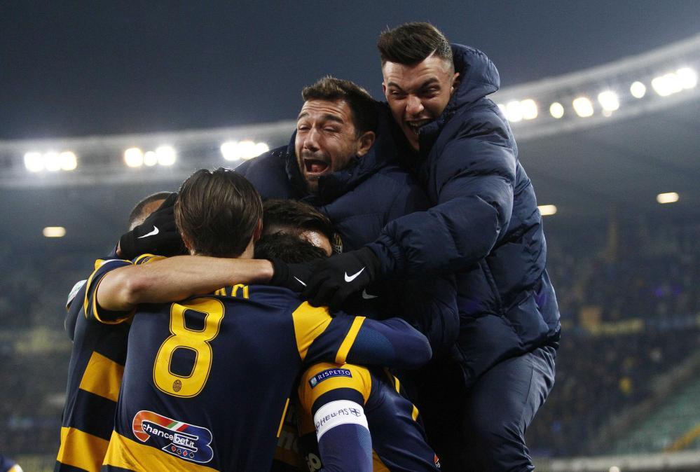 Serie B: Verona-Cesena 3-0, le foto del match