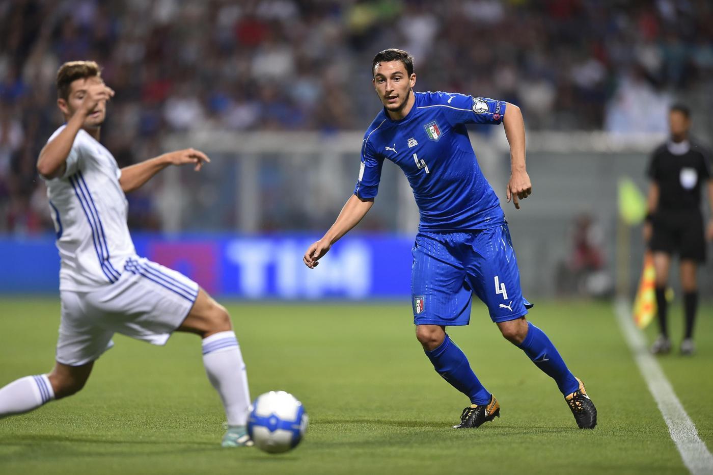 Italia-Israele 1-0, le foto del match