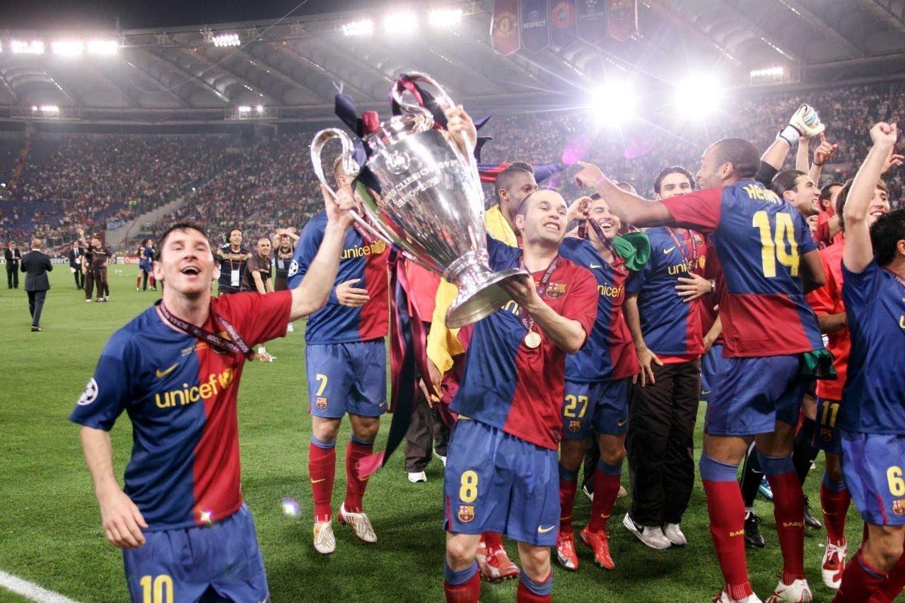 Barcellona, 2009. Finale vinta 2-0 contro il Manchester United