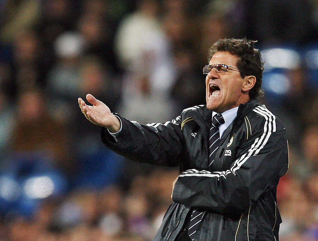 CAPELLO: arriva sulla panchina del Real nel 96/97 e vince la Liga, torna dieci anni dopo (2006/07) e vince la Liga