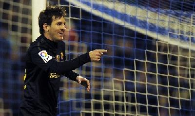Leo Messi, Afp