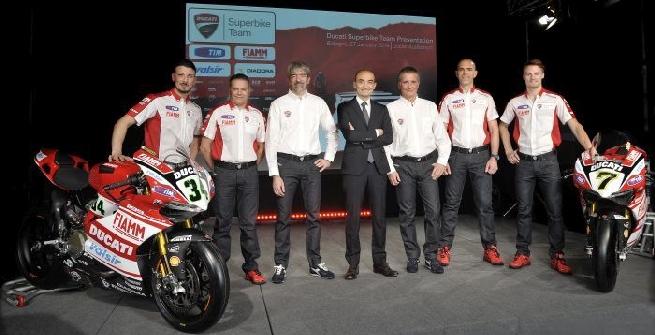 Superbike: la Ducati ha svelato la nuova 1199 Panigale