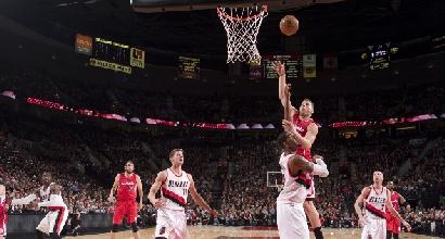 Nba: rimonta Clippers, Portland si arrende
