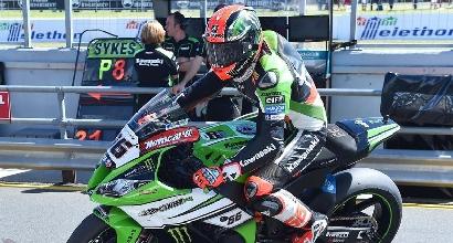 Superbike, Sykes davanti nelle prime libere di Assen