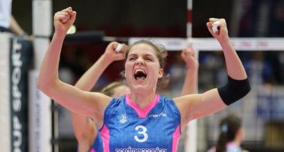 Volley, playoff A1 femminile: Piacenza in finale, Bergamo fuori