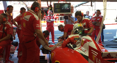 F1, partenza incredibile a Spa! Che disastro per le Ferrari