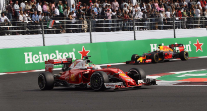 Formula 1, GP Messico: Vettel penalizzato, addio podio. Sorride Ricciardo