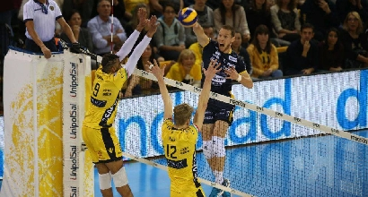 Volley, Superlega: Modena ferma Trento, Lube in testa