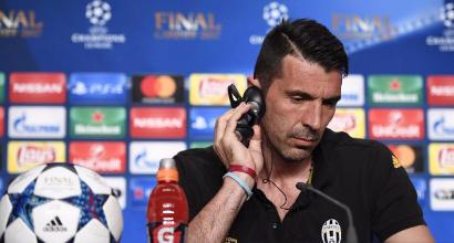 """Champions, Buffon: """"Vogliamo fare qualcosa di storico"""". Dani Alves: """"Siamo due giovanotti"""""""