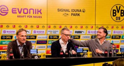Il Borussia Dortmund ha esonerato Bosz, il nuovo tecnico è Stoeger