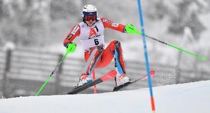 Sci, slalom: vince Kristoffersen