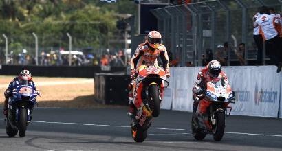 MotoGP, le pagelle della Thailandia: Marquez perfetto, Dovi da 9,5, da Rossi segnali di ripresa incoraggianti