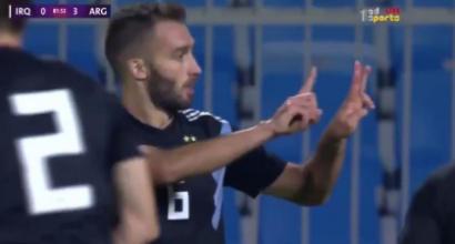 Argentina, Pezzella segna il suo primo gol e lo dedica ad Astori