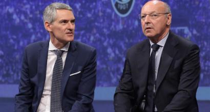 Juventus-Inter, derby d'Italia capovolto per Marotta