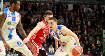 Basket, Serie A: Venezia cade con Trieste, vincono Trento, Sassari, Cremona e Avellino