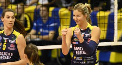 Volley, A1 donne: Conegliano e Novara sul velluto, Scandicci cade a Casalmaggiore