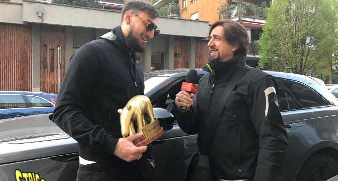 "Milan, Tapiro d'oro a Donnarumma: ""Papera? Capita..."""