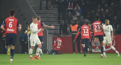 Ligue 1: Psg umiliato a Lille, 5-1 e vittoria del campionato rimandata
