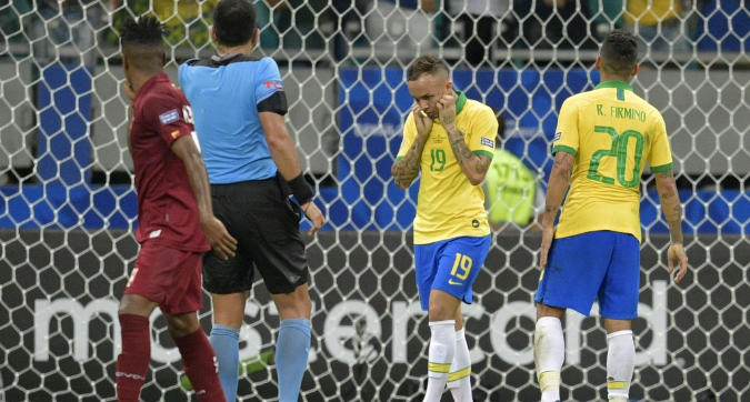 Copa America: Brasile stoppato dal Venezuela, ora il Perù fa paura