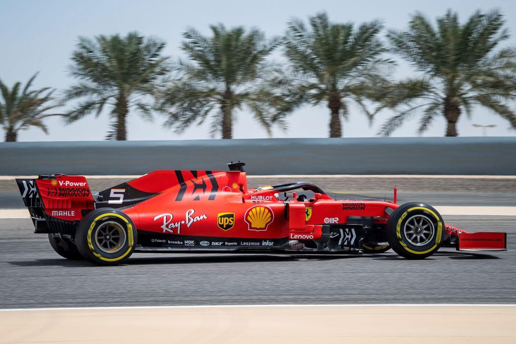 F1, test in Bahrain con Vettel
