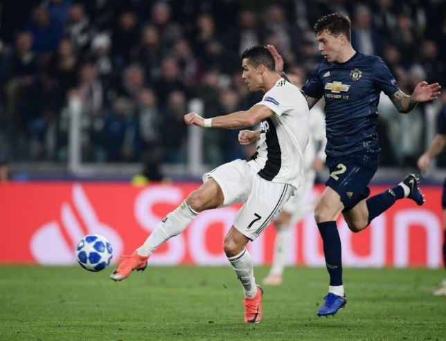 Cristiano Ronaldo (Juventus v Manchester United)
