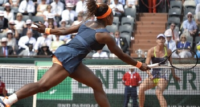 Sharapova e Serena Williams, AFP