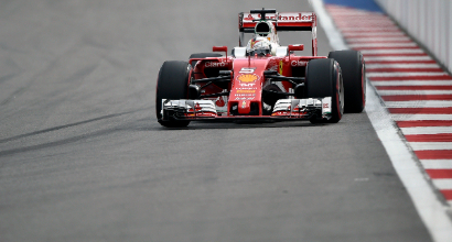 "F1 a Sochi, Vettel: ""Ottimo passo gara"""