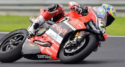 SBK: test Misano, Ducati in grande spolvero