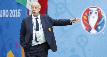 """Del Bosque: """"Lascio la Spagna e il calcio"""""""