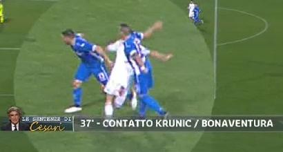 Serie A, la moviola della 14.a giornata