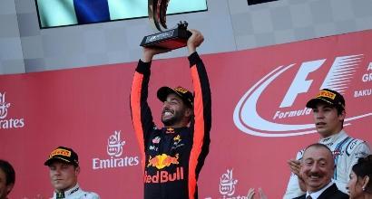 F1, pagelle Azerbaigian: Ricciardo da 8, Hamilton meglio di Vettel