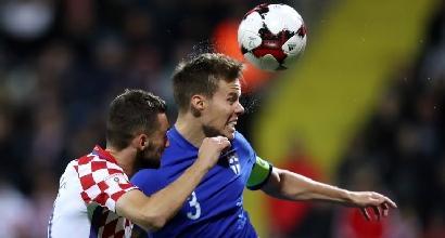 Inter, Brozovic a Milano: lunedì i test strumentali per valutare l'entità del'infortunio