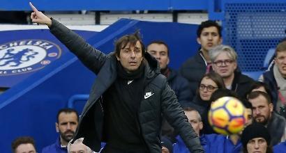 Chelsea, Conte protesta col Var: