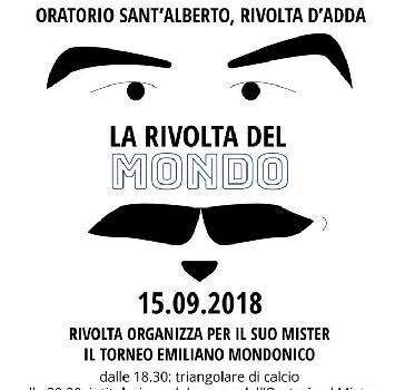 La  Rivolta del Mondo:  un torneo per ricordare Emiliano Mondonico con le Vecchie Glorie di Atalanta e Torino