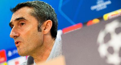 """Verso Inter-Barcellona, Valverde non scioglie il dubbio Messi:""""Non vogliamo correre rischi"""""""