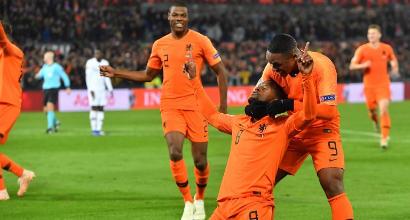 Nations League: Wijnaldum e Depay fanno volare l'Olanda, Francia ko