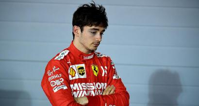 Un cortocircuito ha tolto la vittoria a Leclerc
