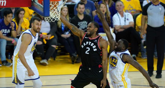Nba Finals 2019: Toronto travolge Golden State e si riprende il fattore campo