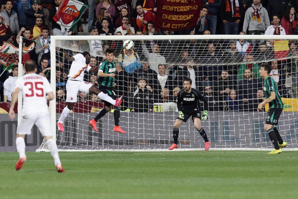 Serie A: Doumbia si sblocca, la Roma vola