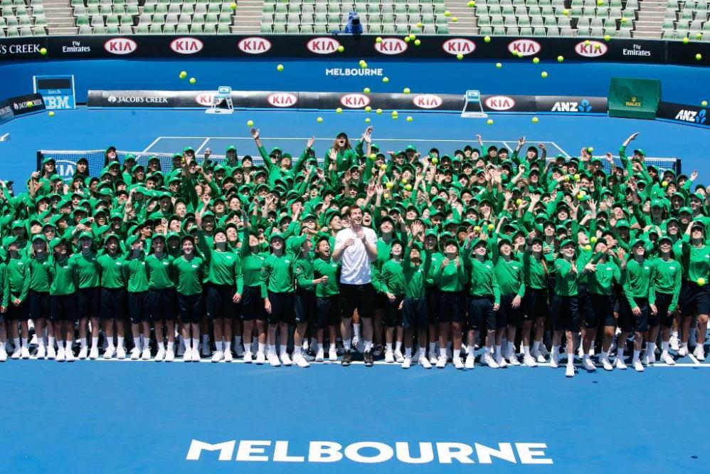 Australian Open, Murray è carico