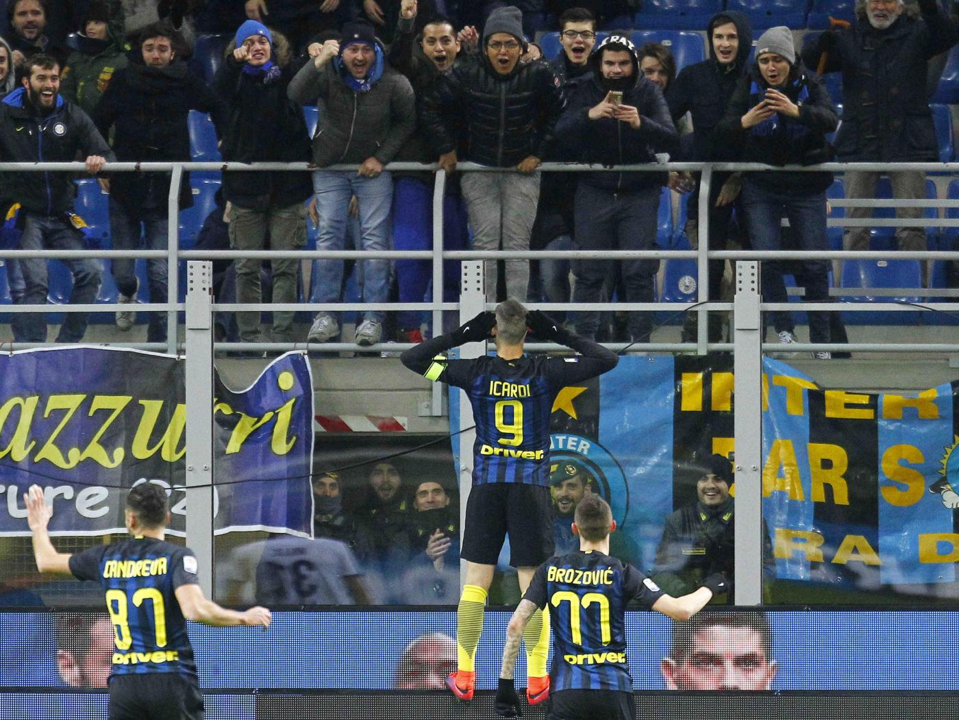 Inter-Fiorentina 4-2: prima gioia per Pioli