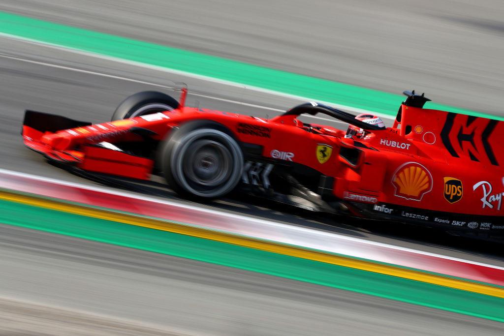 F1, Leclerc debutta sulla Ferrari nei test di Barcellona