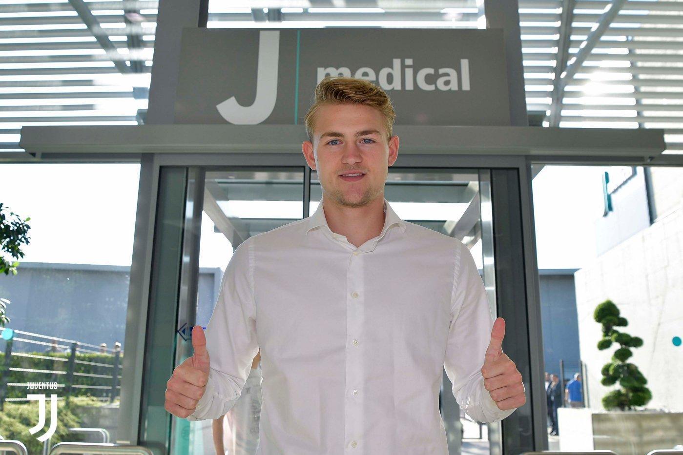 3 - Matthijs de Ligt alla Juventus (75 mln)