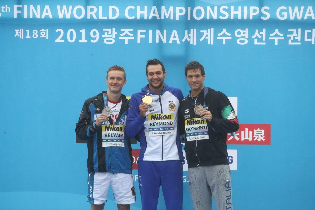 Occhipinti di bronzo nella maratona del nuoto