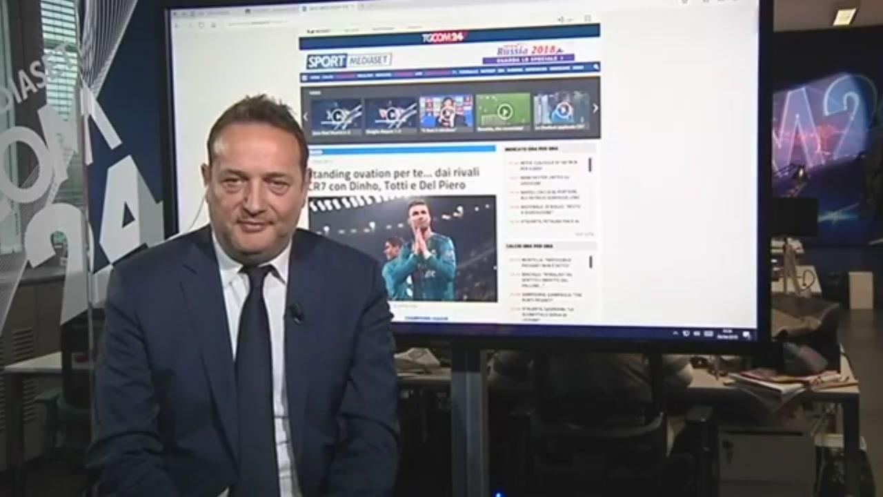 """L'editoriale di Claudio Brachino: """"Il gol di Ronaldo, capolavoro assoluto della storia del calcio"""""""