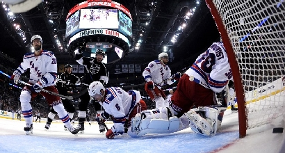Los Angeles Kings-NY Rangers, foto Afp
