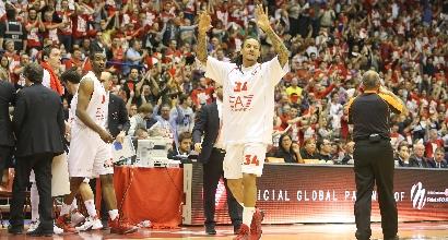Basket, finale Scudetto: Milano a Siena per il tris