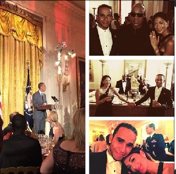 F1, Hamilton incontra Obama